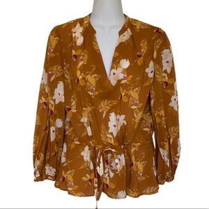 NWT a New Day Blouse size M get ready for Fall!🍂